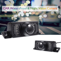 Wholesale waterproof night vision wide camera online - Car Rear View Backup Camera Wide Viewing Angle High Definition Waterproof IR Infrared Night Vision for parking car mirror camera
