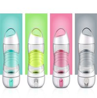 Wholesale Glow Rope Lights - LED Light Smart Water Bottle Sos Emergency Sport Mug Remind Cup Tracks Water Intake Glows Remind You Stay Night Kettle 58ts C R