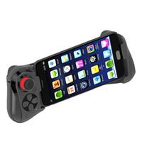 controladores de juego joysticks para pc al por mayor-Nuevo MOCUTE 058 Wireless Bluetooth Gampad Joystick PC Draadloze Game Controller Para el controlador PUBG Mobile Game Android iOS