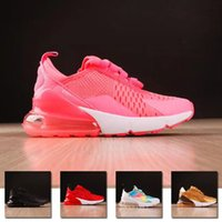 spring soccer 2018 - Baby 270 Kids Running Shoes Originals 27C OG Half Palm Aircushion Shock Absorption Kids 270s Sports Sneakers