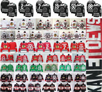 jersey de clark griswold al por mayor-2019 Clásico de invierno Chicago Blackhawks Hockey 19 Jonathan Toews 88 Patrick Kane DeBrincat Keith Clark Griswold Hossa Corey Crawford Jersey