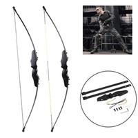 arrows for crossbow großhandel-Professionelle 56 Zoll 30-50lbs Armbrust Pfeil Set Bogenschießen Jagd Takedown Metall Recurve Bow Rechte Hand Ziel