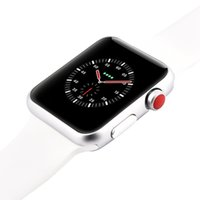 Wholesale russian meter for sale - Goophone Watch W53 mm Stainless Steel Smart Watch Sapphire Mirror Wireless Charger MTK2502C Bluetooth Heart Rate for iPhone X Plus