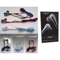 kulaklıklar mikrofonu yoksay toptan satış-100 ADET DHL Moda SMS Ses 50 cent Kulak kulaklıklar Mini 50 cent mic ve dilsiz düğme ile kulaklık SOKAK 50 Cent kulaklık