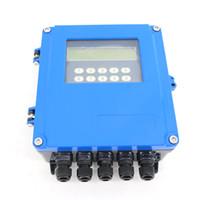 m2 montiert großhandel-Durchflussmesser TDS-100F5-M2 Die maximale Durchflussrate beträgt 64 m / s. Ultraschall-Durchflussmesser für die Wandmontage