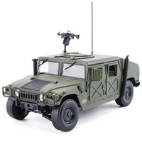 model military vehicle Canada - High simulation 1:18 advanced alloy military chariots car model,metal castings collection toy vehicles, free shipping