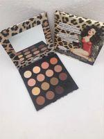 Wholesale leopard palette resale online - Makeup new Leopard eyeshadow colors Balm eye shadow palette interchangeable eyeshadow palette high quality DHL