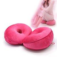 kann kissen großhandel-Das multifunktionale Plüsch Hüft Sitzkissen Gefaltetes Kissen zum Anlehnen auf Halten Kissen Kann T4H0194 erhalten