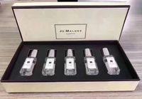 tipos de perfumes venda por atacado-Qualidade superior! Jo Malone Londres 5 cheiro tipo de perfume 9 ml * 5 top quality frete grátis