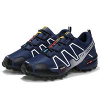 ingrosso sneakers adulti-Sport leggero da trekking per adulti da trekking Outdoor Scarpe da ginnastica estiva estiva traspirante Speedcross 3 Scarpe sportive Sneakers originali S-lab 1