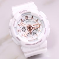 Wholesale baby watching resale online - Relogio Masculion BABY with box Military Luxury Fashion Watch girl gift women Sport Watches Shock women g student Digital Watch