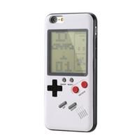 spielkonsolenspiele spielen großhandel-Tetris Ninetendo Phone Cases für iPhone X 6plus 6s 7 7plus 8 8plus Spielen Sie Blokus Spielkonsolenabdeckung Schützender Geschenkfall