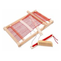 Wholesale multicolor loom for sale - Baby Toys Pretend Play Toys Wooden Traditional Weaving Loom Childrens Wooden Toy Educational Gift Craft Wooden Weaving Frame