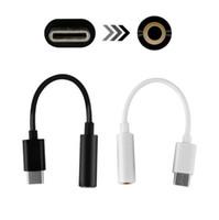 ingrosso jack usb 3.5-Tipo C 3.5 Jack auricolare cavo USB C a 3.5mm AUX adattatore cuffie per Huawei compagno P20 pro Xiaomi Mix