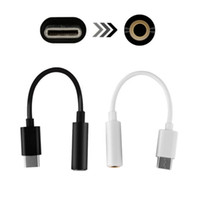 Wholesale pro aux cable for sale – best Type C Jack Earphone Cable USB C to mm AUX Headphones Adapter For Huawei mate P20 pro Xiaomi Mix