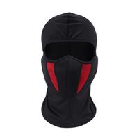 ingrosso casco dell'esercito di airsoft-Passamontagna Moto Face Mask Moto Face Shield Tactical Airsoft Paintball Ciclismo Bike Ski Army Casco Maschera a pieno facciale