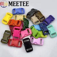 Wholesale umbrella rope - 50 Sets lot Backpack Plastic Buckle Pet Safety Clasp Umbrella Rope Bracelet Clasp Suitable for 10mm Wide Webbing