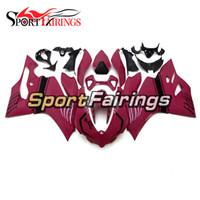 1199 verkleidungen großhandel-Vollverkleidungen für Ducati 899 1199 2012 2013 12 13 Kunststoff ABS Verkleidungen Motorrad Verkleidungssatz Abdeckungen Pink Panels