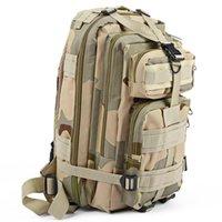 nylon wanderrucksack großhandel-3 P Taktische Rucksack Military Rucksack Oxford Sporttasche 30L für Camping Klettern Taschen Reisen Wandern angeln Taschen