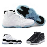 Wholesale baseball cap bowls - Sports Sneaker 11s Prom Night Basketball Shoes 11 Men Women cap and Gown Gym Red space jam concord PRM Heiress bred gamma blue