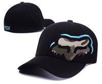 Wholesale fox hats - Fox hats Snapback hats 2018 New bboy Chapeu Men Women Outdoors Casquettes gorras bones baseball caps