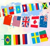 ingrosso bandiera di calcio-Maglie Sport vendita Basket Calcio collegamento di vendita bandiera souvenir 98425
