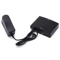 hdmi ypbpr adapter großhandel-Komponente RGB YPbPr zu HDMI Konverter Video Audio Adapter YPbPr / RGB + R / L Audio zu HDMI AV 1080P