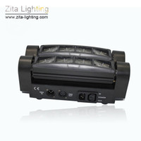 Compra Dj Scanner Principale-4Pcs / Carton Zita Lighting Moving Head LED Spider Luci Scanner Beam Spot Stage Lighting 8X3W RGBW Colorful Wedding Disco DJ Party Effect