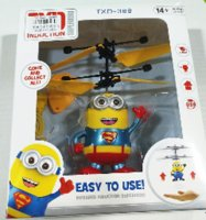 Wholesale Minion Fly Flashing helicopter hand control RC toy helicopter Quadcopter Drone Ar drone with LED remote control for free transportation