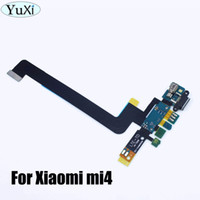 yüksek kaliteli mikrofonlar toptan satış-Liman Motorlu Mikrofon Flex Kablo Değiştirme WP-034 Şarj MI4 Tamir Yedek Parça USB için Yuxi 1PCS Yüksek kaliteli