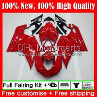 Wholesale 1198s fairing resale online - Factory red Body For DUCATI R R MT1 S S R S S Fairing Bodywork