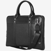 europa geschäftsschultertasche großhandel-Meoaeo New Style Männer koreanische Handtasche Europa und Amerika Mode Business Bag einzelne Schulter vertikal