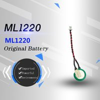 Wholesale Brand new original imported VARTA ML1220 V button rechargeable lithium battery red black double line white plug