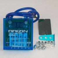 universalstabilisator großhandel-Universal PIVOT MEGA RAIZIN Auto Fuel Saver Spannungsstabilisatorregler LedBlue