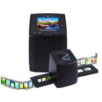 "Wholesale usb digital converter - Professional EC717 5MP 35mm Negative Film Slide Viewer Scanner USB 2.4""LCD Color Monochrome Photo Copier Digital Film Converter"