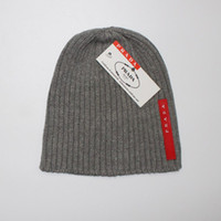 Wholesale bobble knitting wool online - Winter Hat for Women Men Pompom Cap pom pom Beanie womens mens Warm Knitted Fur beanies Boy Girl Bobble hats ladies Adult caps