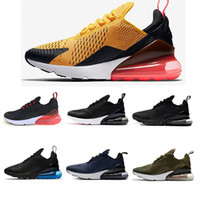 Wholesale pvc photo - New 270 Teal Running shoes Navy Mens Flair Triple Black Trainer Sports Shoe Medium Olive Bruce Lee Womens 270s Photo Blue Sneakers 36-