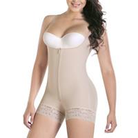 forma de forma fina venda por atacado-Slimming Underwear Bodysuit Mulheres Lingerie Butt Lifter Hot Shaper Potenciador Shapewear Corpo Shaping Modelagem Alças