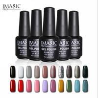 limpiador uv esmalte de uñas al por mayor-IMAGIC 88 colores UV Nail Gel Polish Manicure 8ML Barniz Uñas Gel de Limpieza Larga Duración Top Coat Nails Gel Lacquer