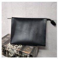 Wholesale leather travel pouch men - New Travel Toiletry Pouch 26 cm Protection Makeup Clutch Women Genuine Leather Waterproof Cosmetic Bags For Women + Dust Bag