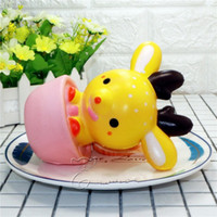 Wholesale Rose Aroma - Cartoon Sika Deer Squishy Kawaii Slow Squishies Simulation Aroma Bread Rising Squeeze Vent Funny Novel Style Decompression 25xr X