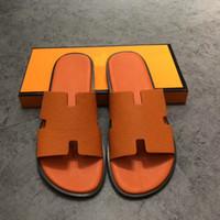 Wholesale dot adhesive resale online - mens shoes Men s Flats Brand Shoes italian luxury men shoesS Men Sandals Casual Fashion Men Sandals Super Star Slippers size