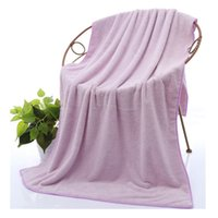 Wholesale Air Conditioner Blanket - Absorbent Stong Blanket 140*70cm Soft Coral Velvet Beach Towel Blankets High Quality Purple Towel Air Conditioner Blankets Carpets