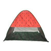 Wholesale gazebo tents online - Widesea New Pop Up Beach Tent Watermelon UV Protective Quick Automatic Open Fishing Hiking And Camping Gazebo hy aa