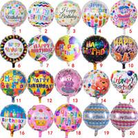 несет медведи оптовых-18 дюймов милый торт медведь узоры воздушные шары мультфильм с Днем Рождения алюминиевый шар подарок для детей партии декор 0 55pg Ww