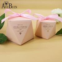 4af34aff534 Wholesale tiffany box for sale - Group buy AVEBIEN New Tiffany Pink Paper  Candy Box Valentine