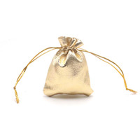 çorap torbaları gümüş toptan satış-7x9 cm Kumaş Altın / Gümüş Yeni Gelmesi İpli Çantalar Jewerly Şeker Kozmetik Hediye Torbalar Için Uygun Ucuz Depolama Torbalar