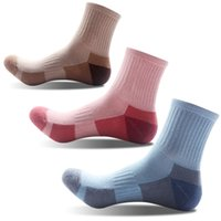 Wholesale cycling crew socks for sale - Group buy Women s Pairs Multi Performance Hiking Wicking Cushion Warm Crew Socks Support FBA Drop Shipping G512S