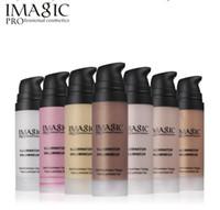verwenden make-up großhandel-Imagic Gesicht Makeup Liquid Textmarker Multi-Use Illuminator Schimmer Gesicht Luminizer Gel Glow Bronzer Maquiagem Haylayter 30ml