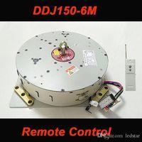 moteur électrique à courant alternatif achat en gros de-DDJ150 150 KG 6 M Auto Télécommandé Chandelier Éclairage Système de Levage Électrique Treuil Lampe Moteur AC 85-265 V